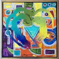 """Originaltavla """"Colors of life"""""""