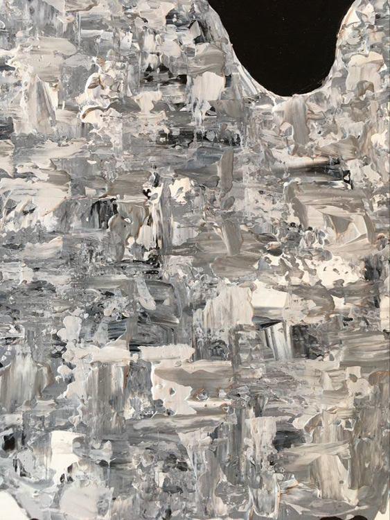 Fårkonstnär C.Brüggmann har målat denna stora fårtavla. Färgglad tavla som man blir glad av. Tavlor till vardagsrum.