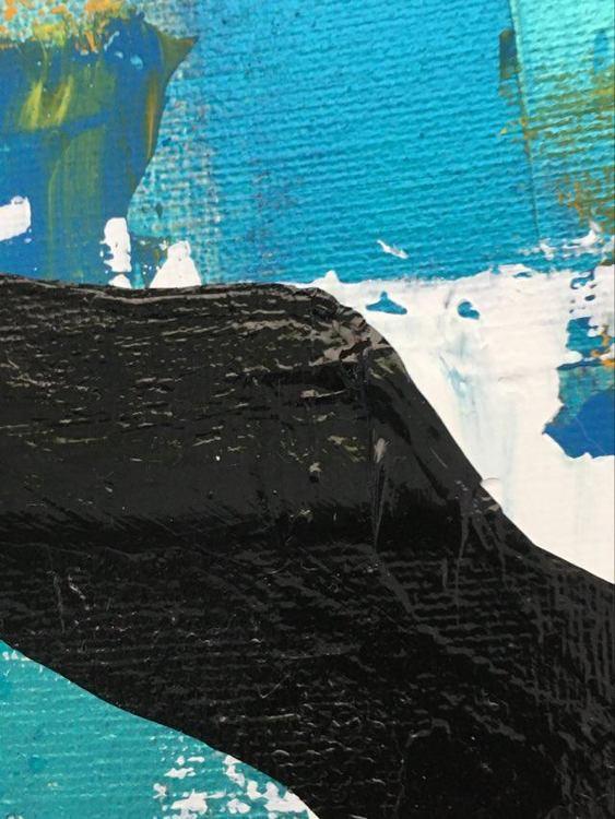 Monroe-konst av konstnär från Helsingborg. Många färger i tavlan som passar bra både på vägg och hylla.