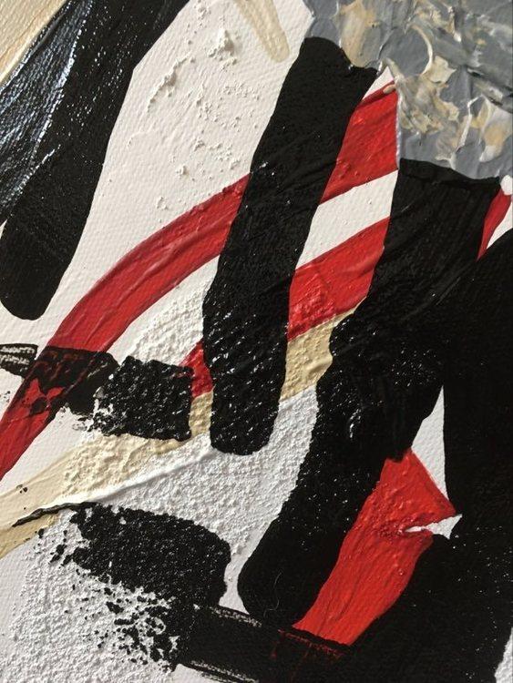 Snygg färgrik tavla med mycket känsla och struktur med gotlandsfår. Konstnär C.Brüggmann gör många olika fårsaker såsom muggar och servetter.