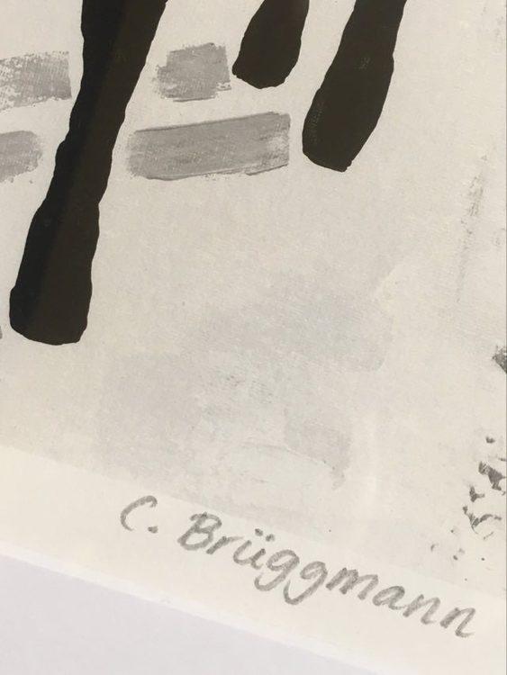 C.Brüggmann säljer sin konst på nätet. Vill du se detta live är påsken ett bra tillfälle då hon medverkar i Konstrundan i Helsingborg.