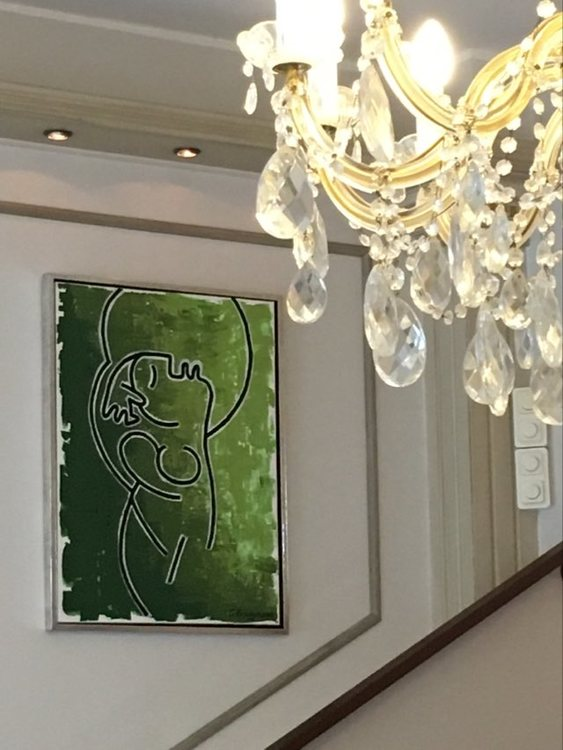 Häng din konst på bästa plats i ditt hem. Se originalmålningar och prints på cbruggmann.se