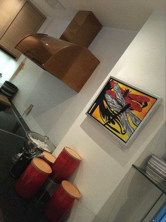 Matcha ditt kök med coola tavlor av C.Brüggmann. Klara färger, stilrena tavlor...se mer på cbruggmann.se