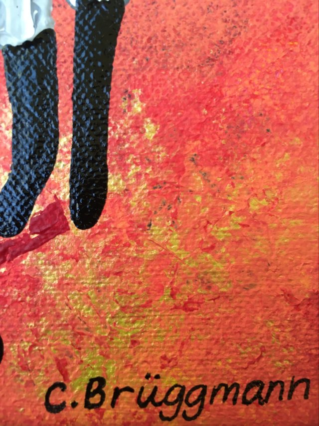 Färgglad konst och snygga tavlor av C.Brüggmann från Helsingborg. Besök hennes ateljé!