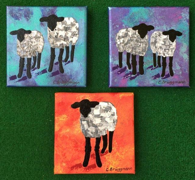 Snygga fårprodukter och fårtavlor inspirerade av gotlandsfår, gulliga får och Gotland. Populära fårmotiv.