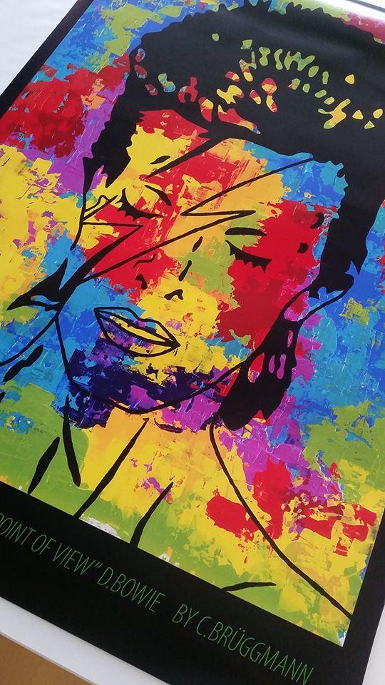 Art Print, D.Bowie