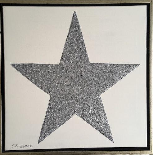 """Originalmålning """"Fluffy Star"""""""