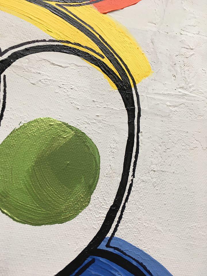 Massa färg till din vägg på tavlor målade av C.Brüggmann. Konstnär från Helsingborg och Visby.