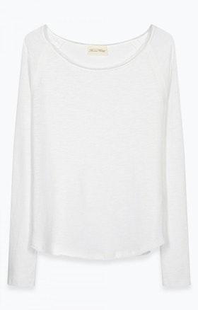 American Vintage - Sonoma Sweatshirt 'blanc white'