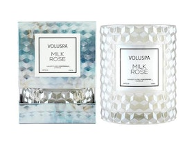 Voluspa - Milkrose Boxed Icon Candle