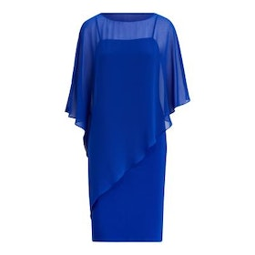 Ralph Lauren - NAYLISSA 3/4 SLEEVE-COCKTAIL DRESS - Blå - 2299:-