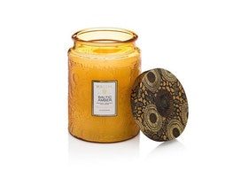 Voluspa - Baltic Amber Large Glass Jar Candle