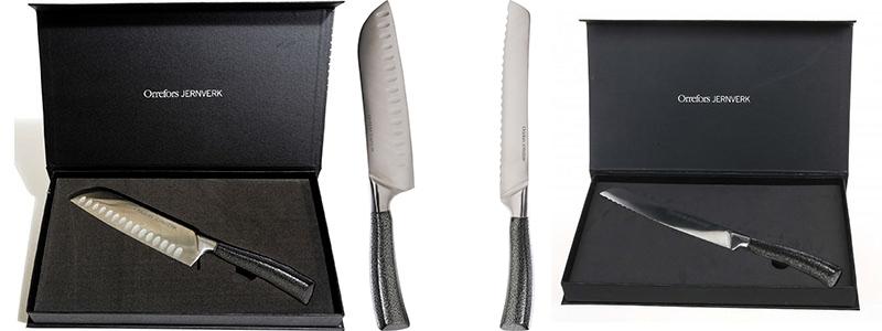 REA på exklusiva kockknivar från Orrefors Jernverk!