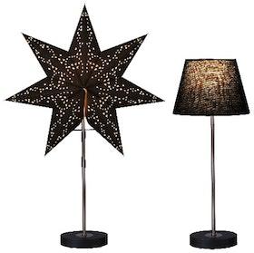 Star Trading Kombipack lampfot med stjärna och lampskärm