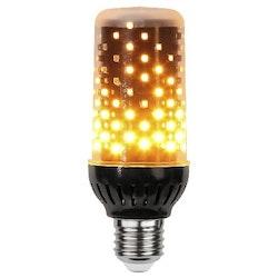 Star Trading Flame Lamp LED svart