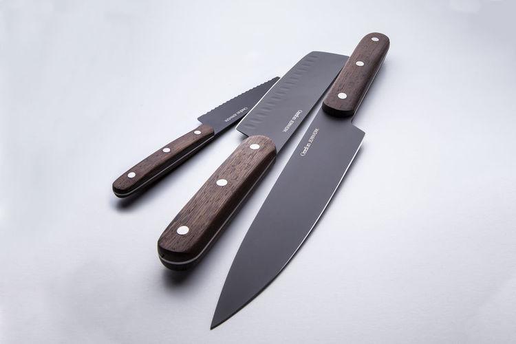 Orrefors Jernverk Knivset Askträ 3-pack