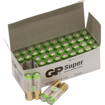 Batteri GP Super AA/LR6 2-pack