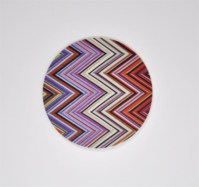 Mellow Design Glasunderlägg Zig Zag 4-pack