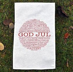 Mellow Design Kökshandduk God Jul