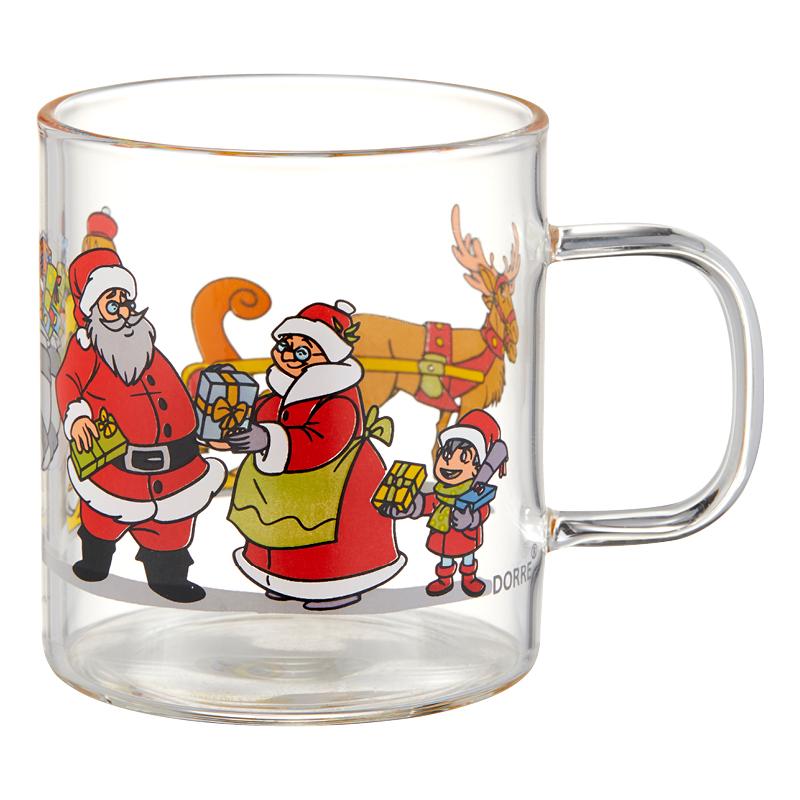 Dorre Santa Glöggmugg 4-pack