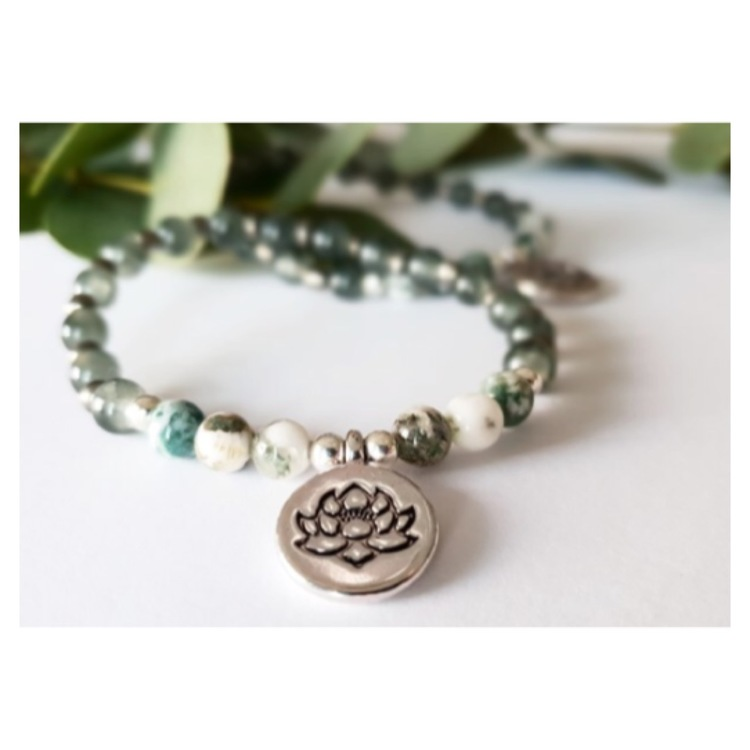Armband Lotus Silver