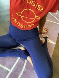 YOGISH UNIVERSE T-shirt Röd Large