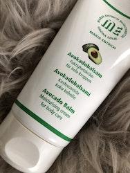 Avokadobalsam, fuktighetskräm för hela kroppen