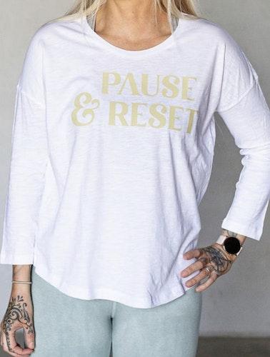 Pause & Reset tröja från Yogia