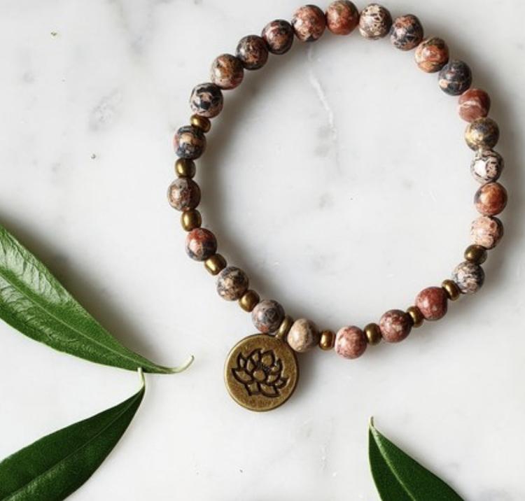 Armband Lotus & Jaspis