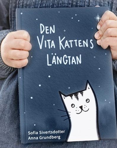 Den vita kattens längtan / Barn bok