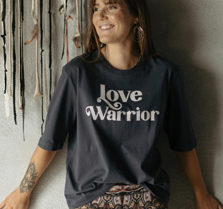 T-Shirt Love Warrior