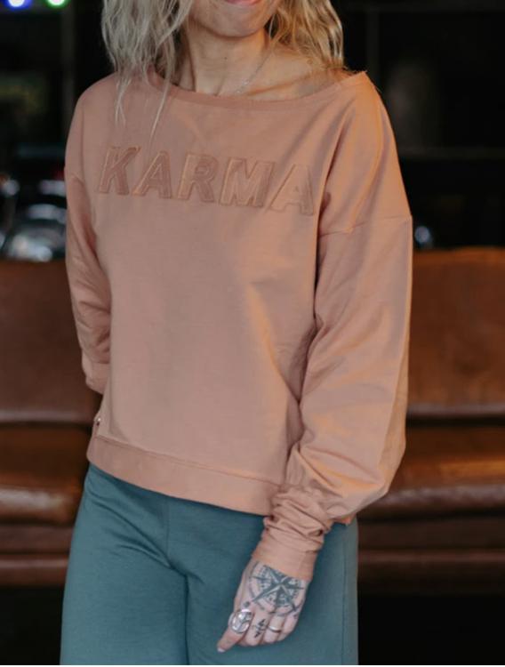 Sweater KARMA puffärm -yogia