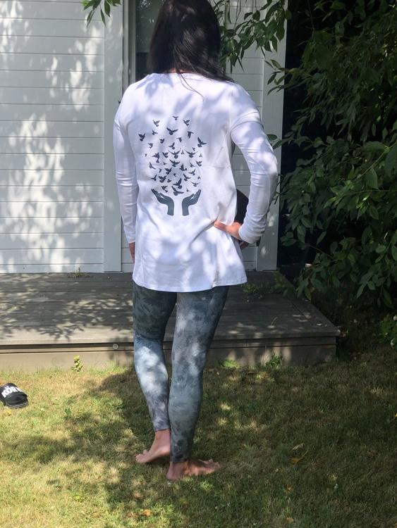 Yogia  leggings Grey Leopard