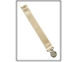 Beige napphållare - silver