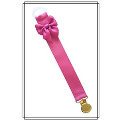 Cerise napphållare med rosett - guld