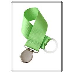 Grön napphållare - silver