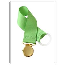 Grön napphållare - guld