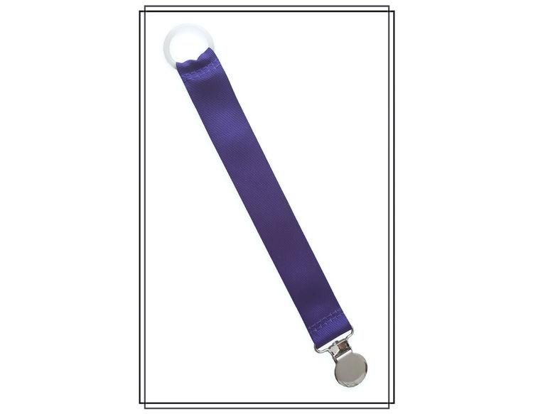 Lila napphållare - silver