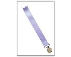 Ljuslila napphållare - silver