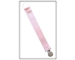 Ljusrosa napphållare - silver