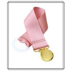 Gammelrosa napphållare - guld