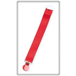Röd napphållare