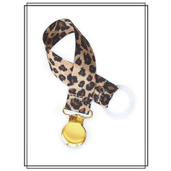 Napphållare leopard - guld