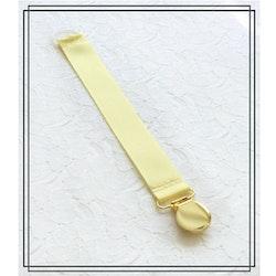 Ljusgul napphållare - guld
