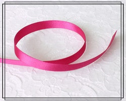 Satinband CERISE - 1 cm brett