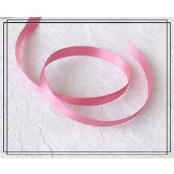 Satinband ROSA - 1 cm brett