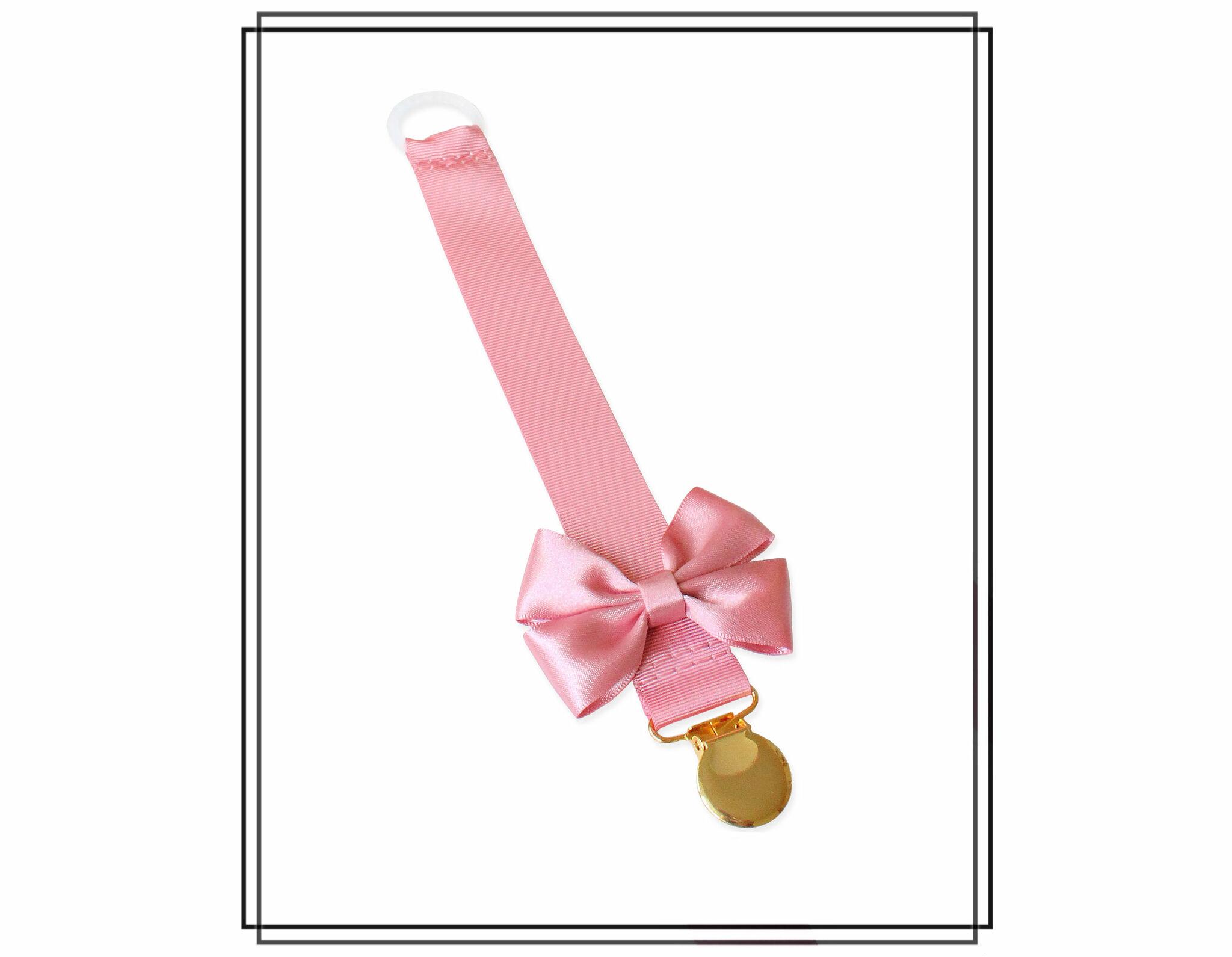 Gammelrosa napphållare med Vera-rosett