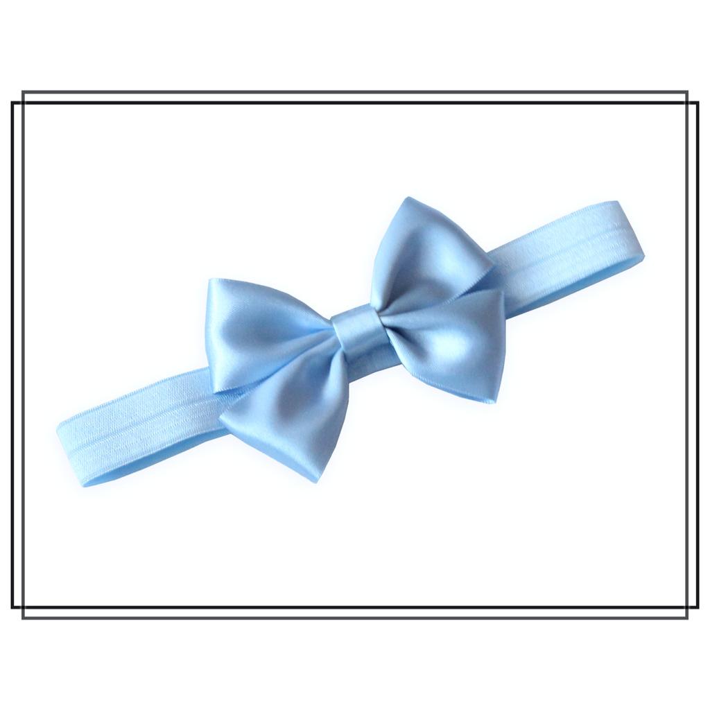 Hårband Vera ljusblå - stor
