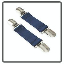 Marinblå vanthållare