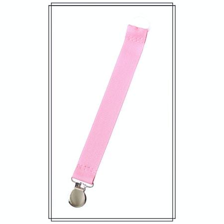 Rosa napphållare - silver